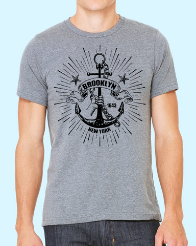 T-Shirt - Brooklyn Anchor Rising - Unisex