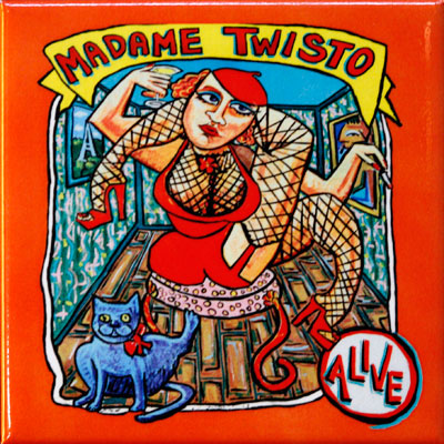 Magnet - Madame Twisto