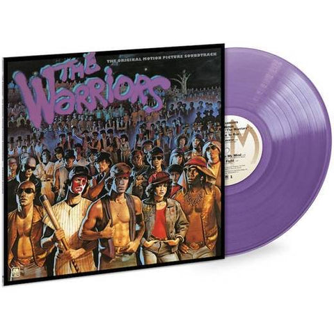 """The Warriors"" Purple Vinyl Record - Original Motion Picture Soundtrack"