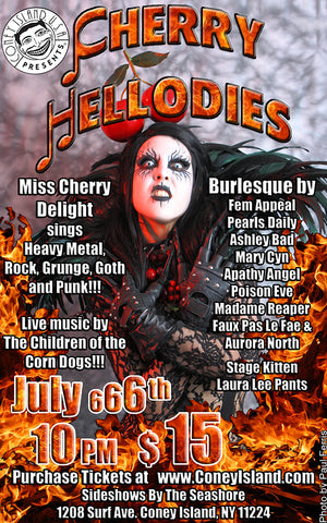 Friday - July 6, 2018 - 10pm - Cherry HELLodies