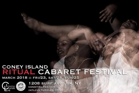 Combo Ticket, Saturday, March 24, 2018, Sunday, March 25, 2018, Coney Island Ritual Cabaret Fest
