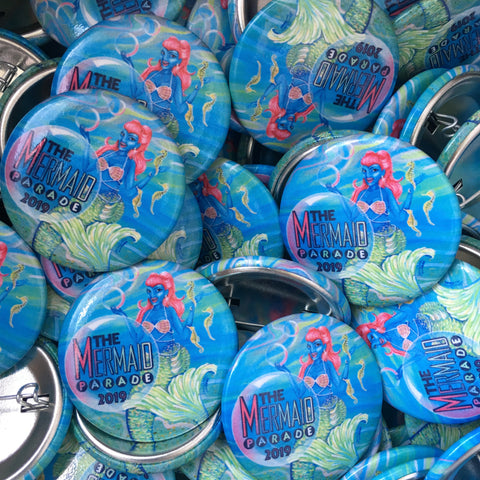 Button - 2019 Mermaid Parade