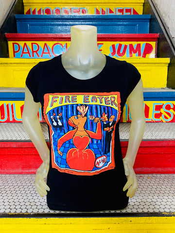 T-Shirt - Fire Eater Women M