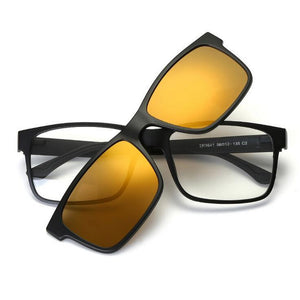 5 in 1 Magnetic Lens Swappable Sunglasses - Vici Tempus