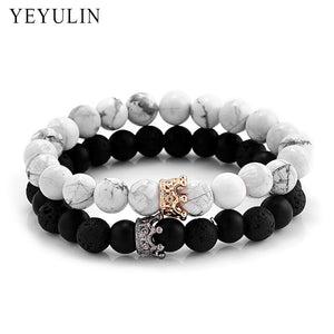 Yeyulin Twin Crown Bracelet - Vici Tempus