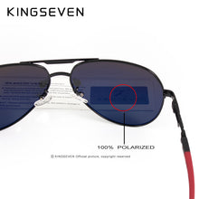 KINGSEVEN Aluminum Polarized Sunglasses - Vici Tempus