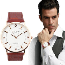 Minimalist Luxury Men's Leather Strap Watch - Vici Tempus