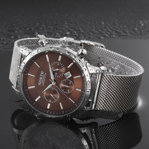 North Calendar Quartz Wrist Watch - Vici Tempus