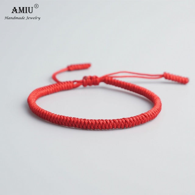 Amitabha Red String of Faith Bracelet - Vici Tempus
