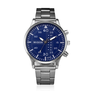 Crystal Stainless Steel Quartz Watch - Vici Tempus