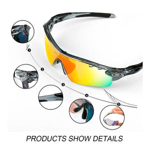 POLARIZED CYCLING GLASSES SET - Vici Tempus