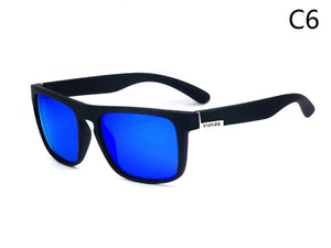 Viahda Squared Polarized Sunglasses - Vici Tempus