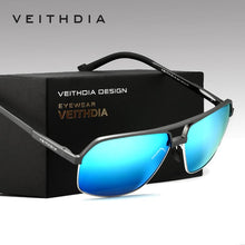 VEITHDIA Aluminum Alloy Polarized Square Sunglasses - Vici Tempus