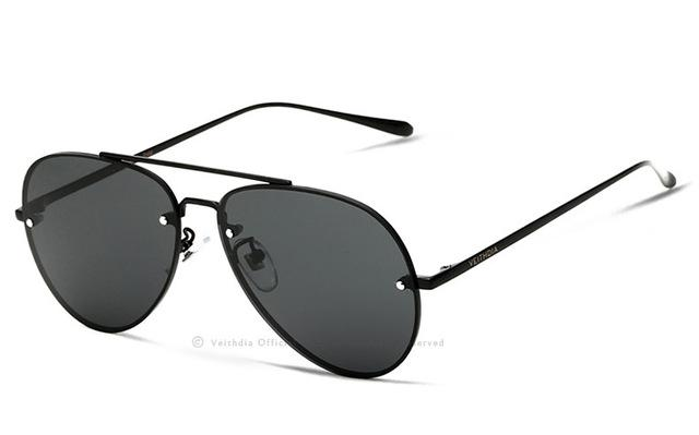 VEITHDIA Rimless Polarized Sunglasses-Vici Tempus