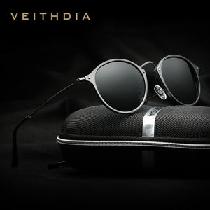 VEITHDIA Round Polarized Sunglasses - Vici Tempus