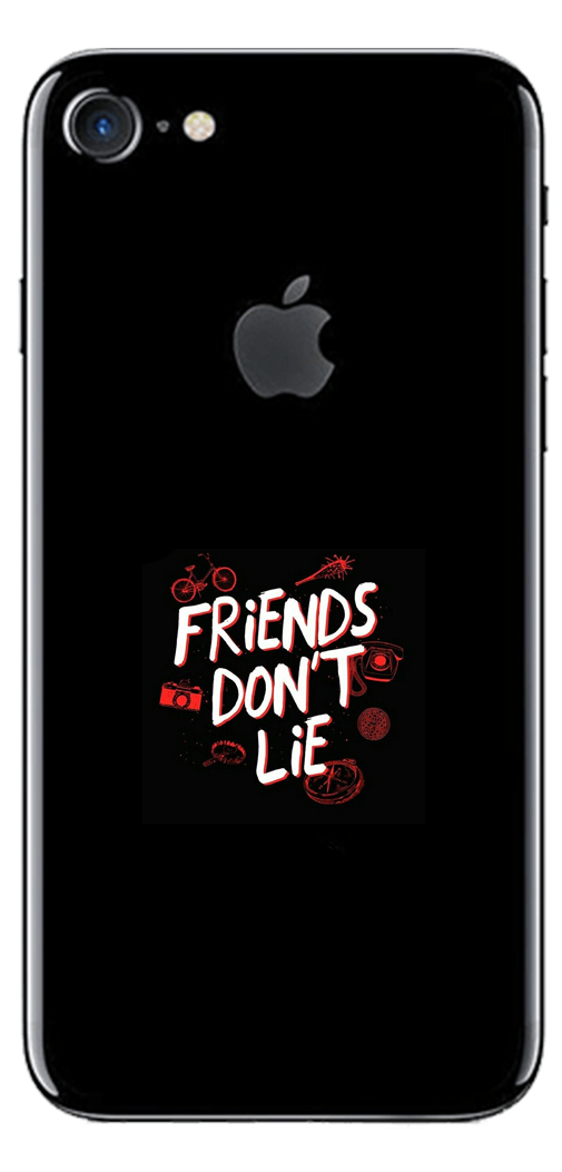 Husă Stranger Things Iphone Friends Don't Lie