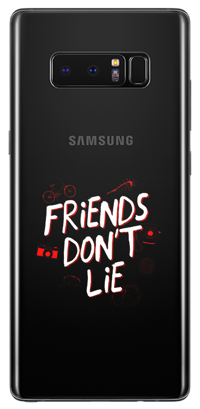 Husă Stranger Things Samsung Friends Don't Lie