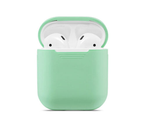 Husa din silicon Apple Airpods New Liquid Silica Gel Protective Sleeve