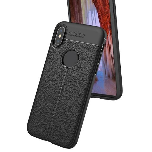 Husa Autofocus Leather Skin Huawei P20