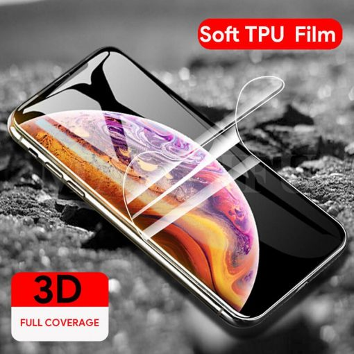 Folie tpu Gel siliconata 3D iPhone X