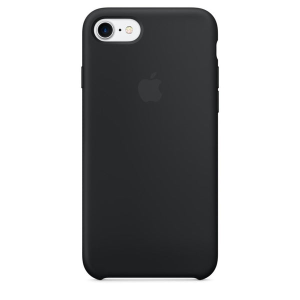 iPhone 7 Silicone Case - Black - FIXTAG