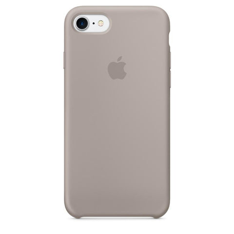 iPhone 7 Silicone Case - Pebble - FIXTAG