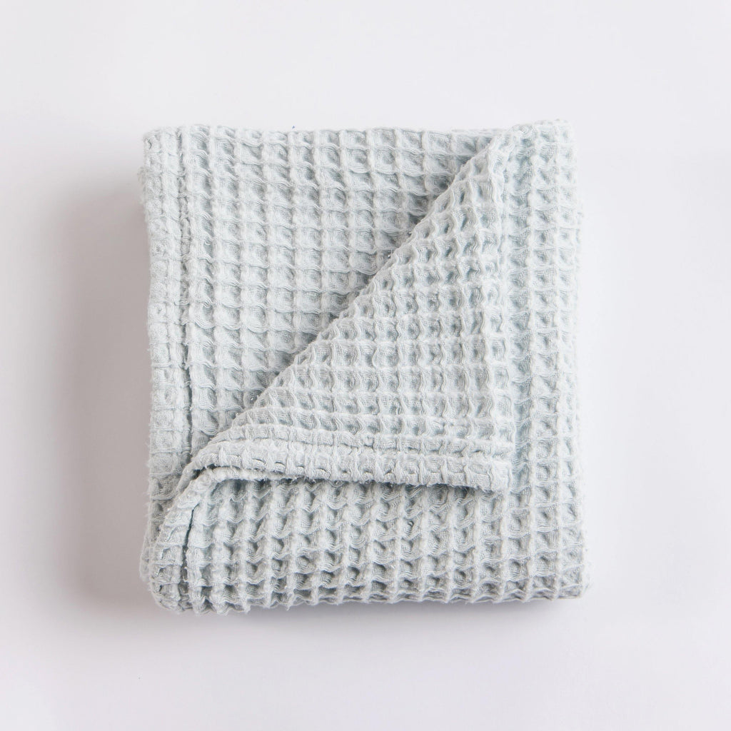 Waffle Blanket - Pale Blue - Sugar House Baby