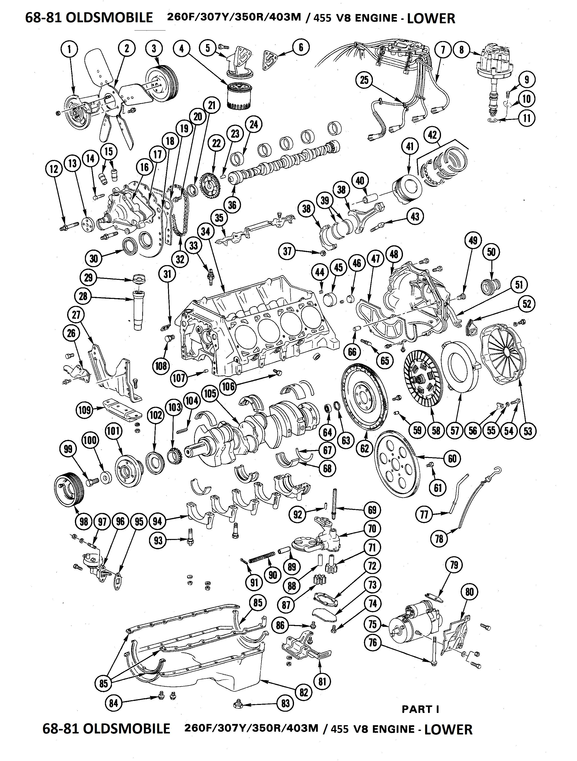 Oldsmobile Engine Diagram