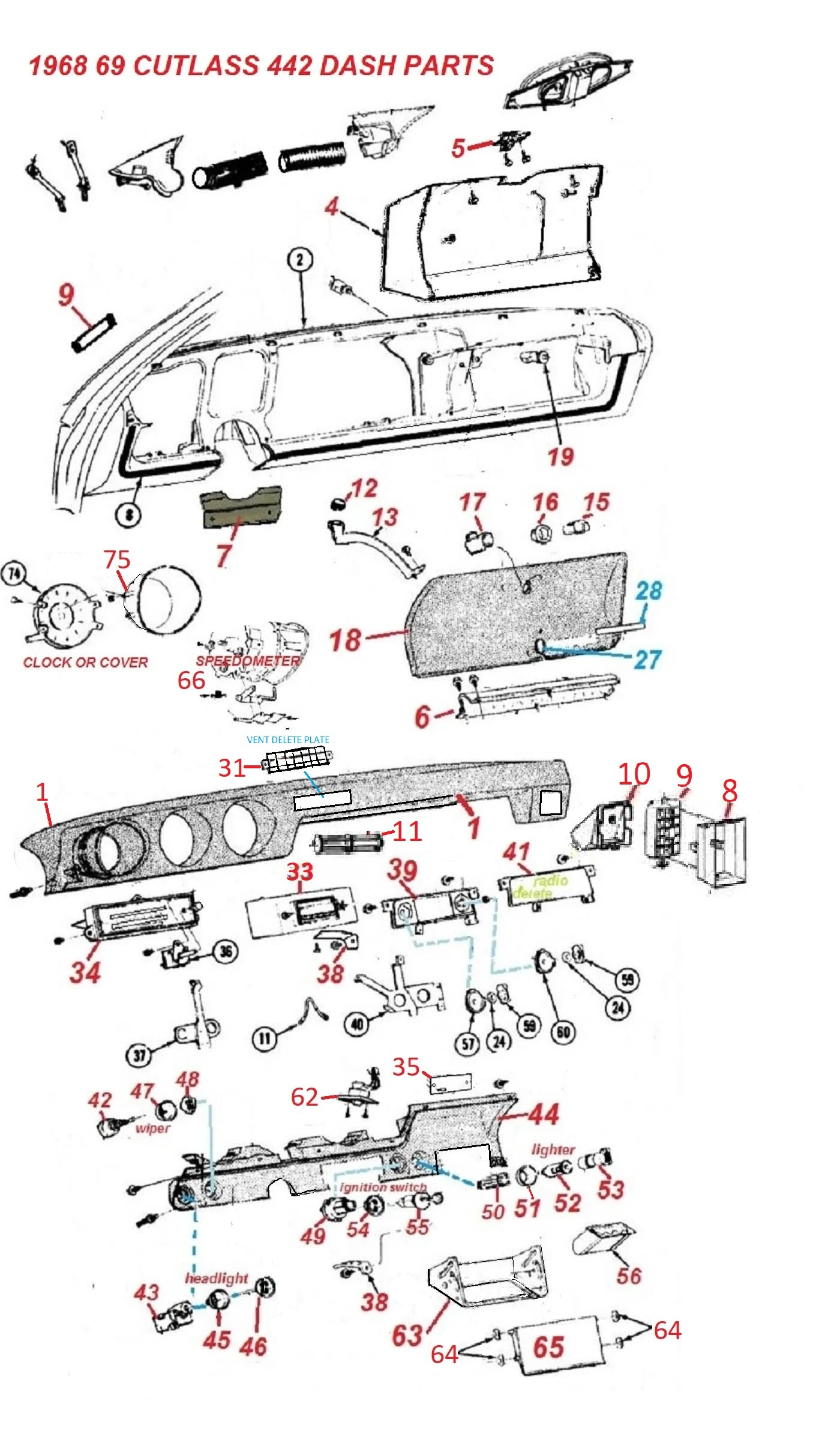 25 Toyota Tundra Interior Parts Diagram