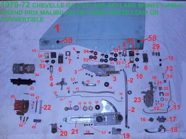 NEW 70-72 Chevy Monte Carlo Dome or Door Jamb Switch