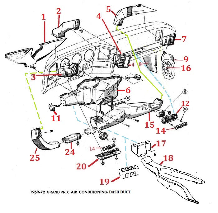 Pontiac Grand Prix Air Conditioning Wiring Schematic