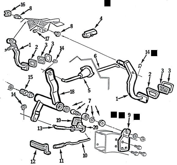 67 68 69 camaro firebird clutch linkage parts \u2013 chicago how to test a neutral safety switch in