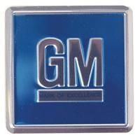 DOOR DECAL (GM MARK OF EXCELLENCE) EMBOSSED BLUE, EACH 68-70 GM CARS