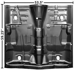 CAB FLOOR PAN, FULL 1 PIECE,NEW 68-72 A-BODY
