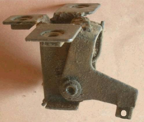 HOOD LATCH, USED, 68-69 CUTLASS 442 DELTA 88 98