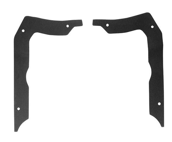 QUARTER EXTENSION OUTER GASKETS PAIR,NEW 66 CHEVELLE