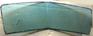 REAR GLASS, TINT, 73-7 CS RE CE, V ANGLED, USED