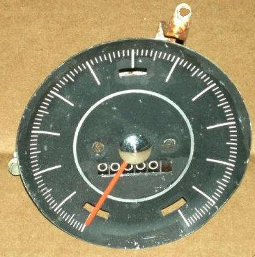 SPEEDOMETER GAUGE, 66-67 CU 442, USED
