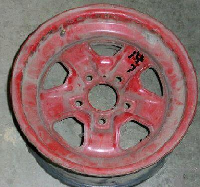 WHEEL RIM, SS II, 14X7, 70-75 OLDS, BARE RIM, BOLT ON CAP, MJ, USED