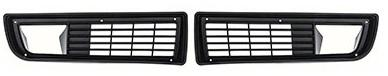 FRONT GRILLS, PAIR REPRO, 79-81 Trans am