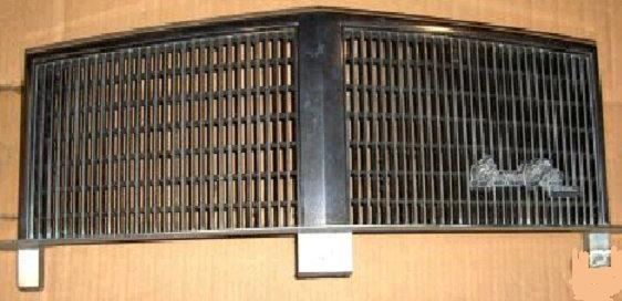 FRONT GRILL UPPER 81-4 GP  USED