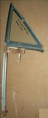 DOOR VENT FRAME ,LEFT,  USED 4DR, 68-72 A-BODY