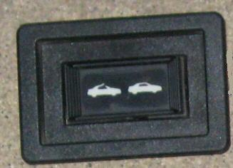 CONVERTIBLE TOP SWITCH, USED  89-92 CAVALIER  SUNFIRE