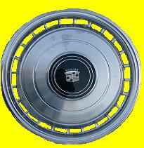 WHEEL COVER STD  79 DEVILLE  USED  EACH