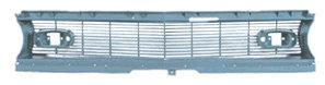 FRONT GRILL, STD, CENTER, 68 CA, PLASTIC, REPRO,   (EXC. RS)