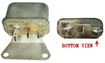 HORN RELAY, 68-71 GTO 69-73 FB 69-71 GP CT, USED