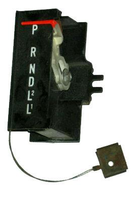 SHIFTER INDICATOR ASSEMBLY, ON DASH, USED, 70-78 CAMARO
