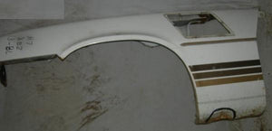 FRONT FENDER ,LEFT SIDE, USED 78-81 Z28