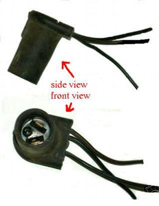 PARK LIGHT PLUG, 3 WIRES, USED, 68-70 PONTIAC, AMC