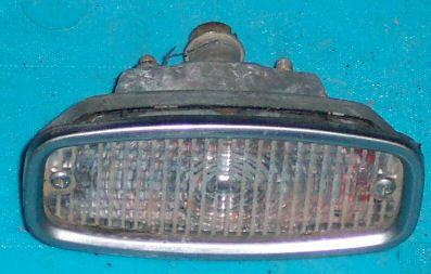PARK LIGHT ASSEMBLY, STD, NEW, 68 CA, FITS LH OR RH, NEW, REPRO, EACH